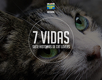 MASTER CAT / 7 VIDAS