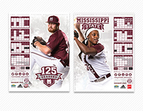 Mississippi State Spring Poster Series
