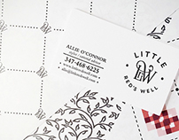 Little Red's Well Branding