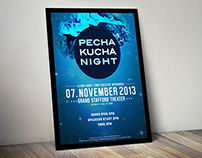 Pecha Kucha Night Poster Design