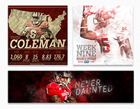 Indiana University Football - Various Projects