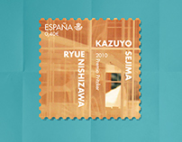 Postage Stamps - The Pritzker Architecture Prize -