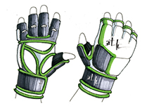 MMA Gloves Tech Pack
