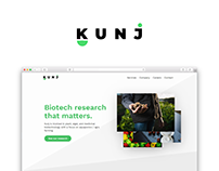 Kunj Web Identity Refresh