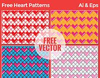 Free Heart Patterns