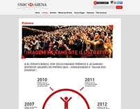 HSBC Arena - Infográficos