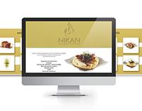 Nikan Catering Página Web