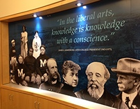 Middlebury College Special Collections Department Mural