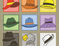 Famous Fedoras