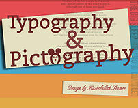 Typography & Pictography