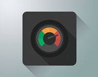 Flat Performance Icon