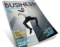 Business Magazine Template