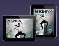 Tablet Busines Magazine Template