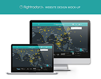 FlightRadar24 Website Redesign