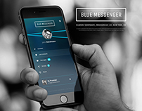 Blue Messenger / App Design / ENG / BlueSky Inc.
