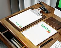 Justpay - logo design
