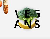Vegan's Food.Landing Page