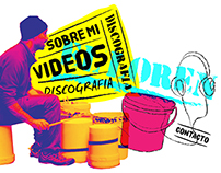 Drummer El Loren Web Design