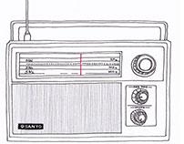 Sanyo vintage radio