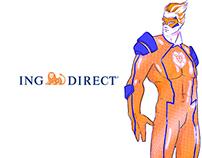 ING DIRECT // Superheroes