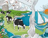Arborea milk