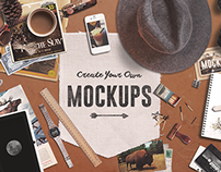 Create Your Own Mockups