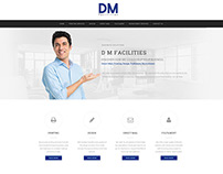 DM Facilities New Website Design