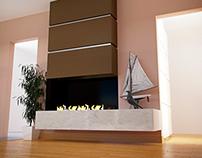 BioKrb - fireplace