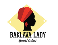 Baklava Lady Logo