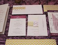 Lauren + Jeremy: Wedding Invitation & Event Design