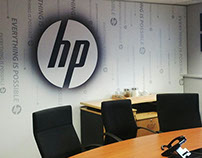 HP Wallpaper Branding