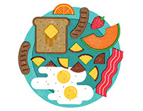 Food Editorial Illustrations