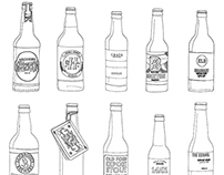 London craft beer Drawings