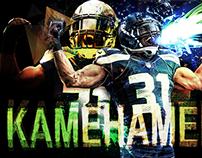 KAMehameha. (Kam Chancellor/Seahawks) [2015]