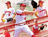 Wisconsin Badgers Softball - Cassandra Darrah Collage