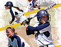 Graceland University Softball - Sydney Smith Collage