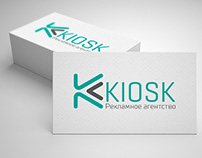 KIOSK logotype design
