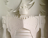 The Iron Giant (Papercraft)