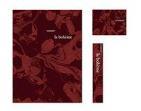 Logo Design - La Boheme Restaurant