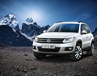 """Volkswagen Tiguan """"Hielo"""""""