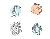 illustration »zodiac signs«