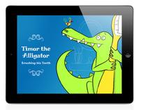 Timor the Alligator – Brushing his Teeth