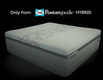 Sealy Posturepedic Hybrid demonstration video