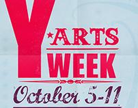 Y Arts Week Poster