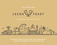 Leeds Feast Logo & Illustrations