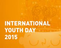 Poster / Día internacional de la juventud 2015