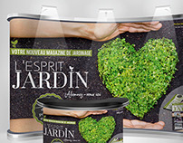 "Compositions : Snap up publicitaire ""L'esprit jardin"""