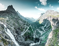 [:] Norways fjord- and mountainlandscapes [:]