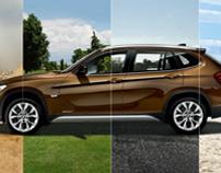 BMW X1 Microsite