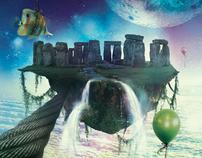 Flying Stonehenge